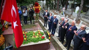 Galatasaray'da Ali Sami Yen mezarı başında anıldı