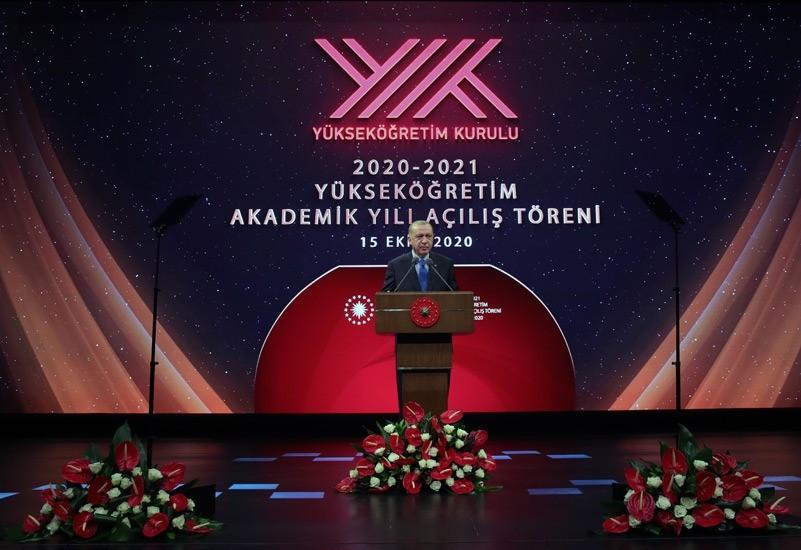 AİÇÜ Rektörü Prof. Dr. Karabulut, 2020-2021 YÖK Akademik Yılı Açılış törenine katıldı