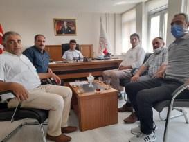 Ağrı Yurt Ay Der'den Vali Yardımcısı Cankaloğlu'na Ziyaret