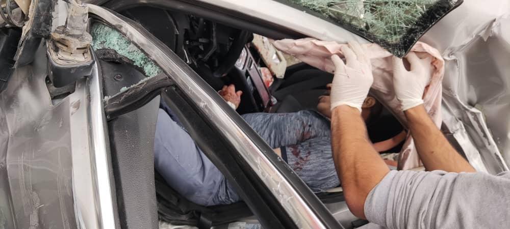 Ağrı'da trafik kazası: 1 ölü, 1 yaralı