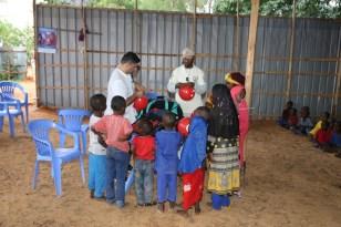 Somali halkından Türk dernek üyelerine sevgi seli