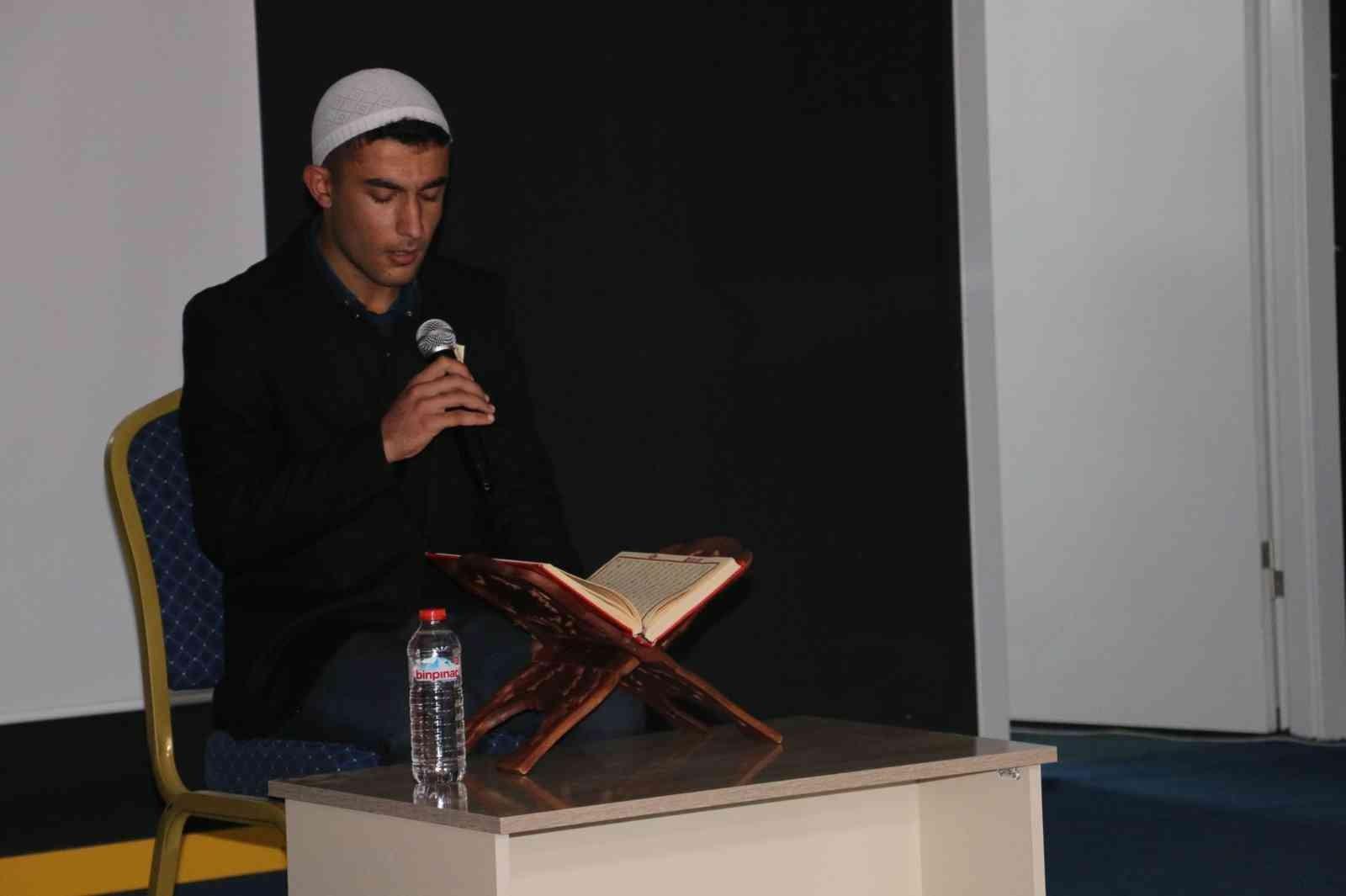 Diyadin'de Mevlid-i Nebi Haftası etkinliği düzenlendi