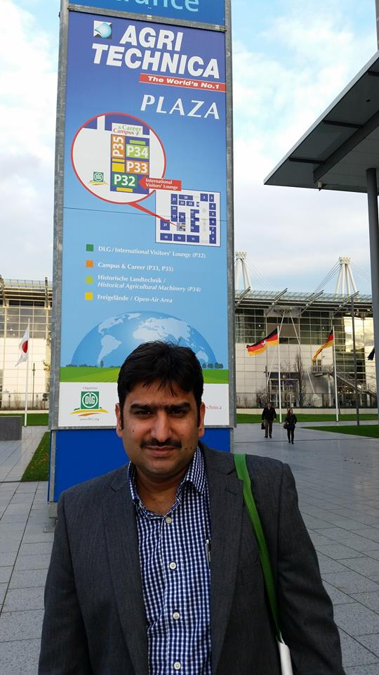 Visit of Agritechnica