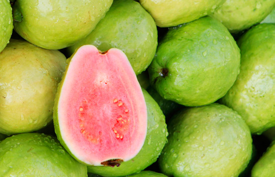 See how consuming guava can improve vision, reduce sugar level, lower blood pressure, improve brain functions, support thyroid gland, make skin glow and fight cancer