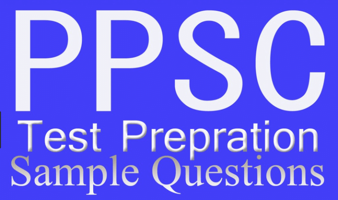 MCQs from PPSC test for Agriculture officer
