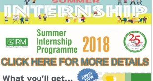 Summer-Internship-Programme-2018
