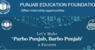 Internship-opportunities-in-Punjab-Education-Foundation-PEF