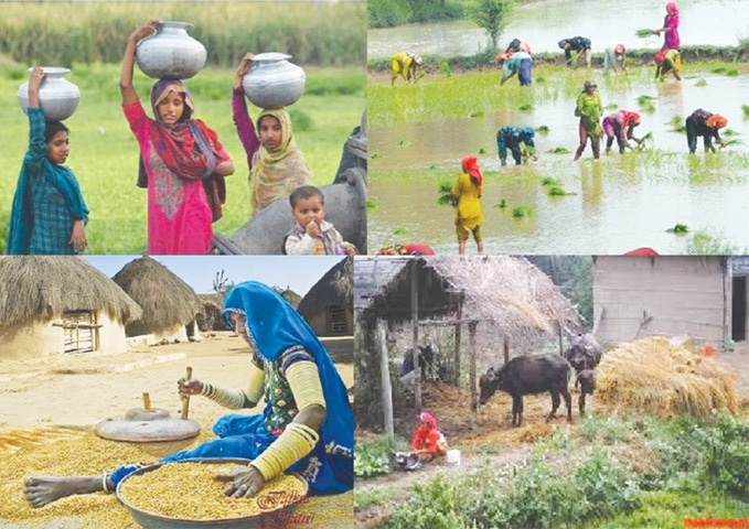 Female labour force in agriculture