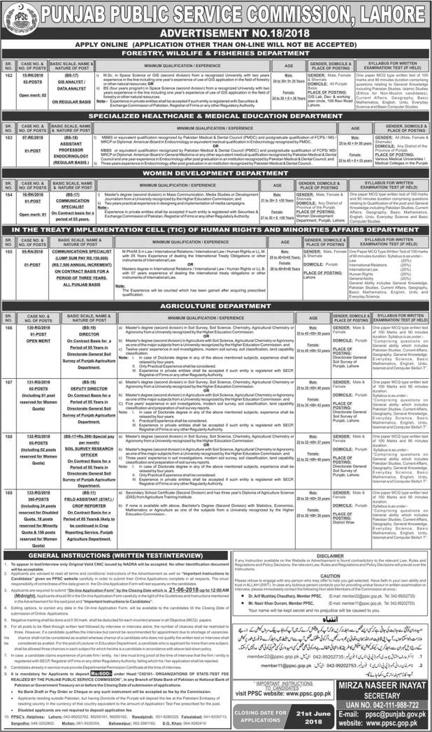 Jobs-in-Punjab-Public-Service-Commission-PPSC-2018