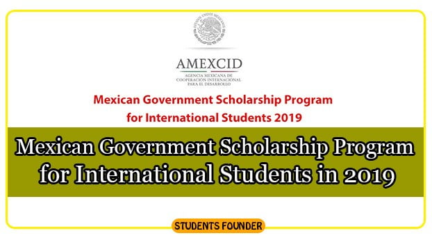 Mexican-Government-Scholarship-Program-for-International-Students-in-2019