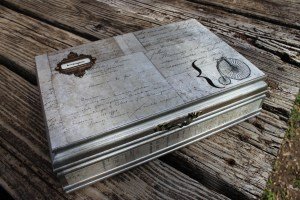 Steampunk Keepsakes Box