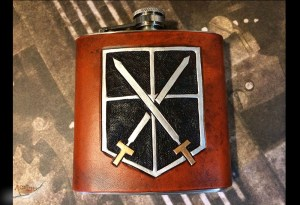 Attack on Titan Flask