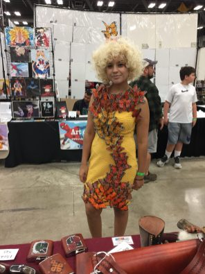 Cosplayers At Austin Wizard World 2017