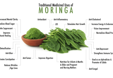 Importance of Moringa (Moringa oleifera L.) plant due to its several uses benefits to agriculture and industry