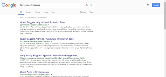 Agriculture and farming guest blogging websites - Agriculture