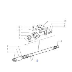 PON3029 Wał napędowy 6 cylindrów 1560mm 87583761