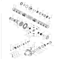 Dyferencjał case mx magnum new holland tg t8 87310143