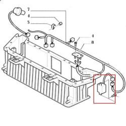 przekaźnik Termostat klimatyzacji Case JX MXM New Holland
