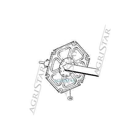 CH04-677474 Gwiazda motowidła końcowa