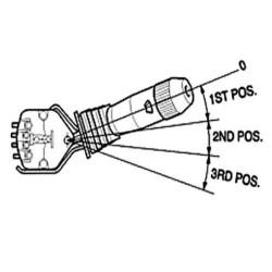ELE5126 Włącznik wycieraczek Case MXM New Holland TM TS