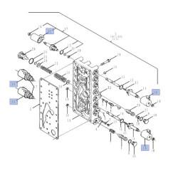Cewka 6V skrzyni biegów powershift 86500999 4008677 New