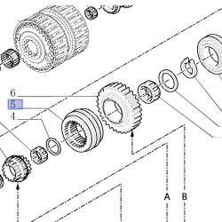 NEW HOLLAND TS100A TS110A TS115A TS125A TS135A TRACTORS
