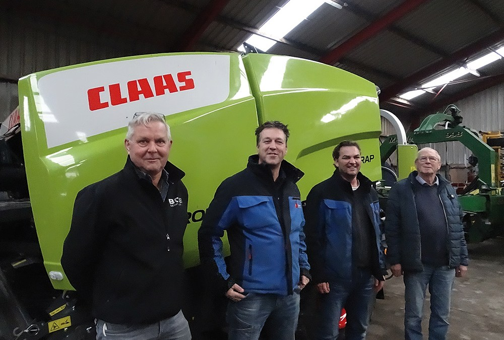 Loon- en grondverzetbedrijf Frankena in Winsum – Klant van Bos Mechanisatie in Easterein