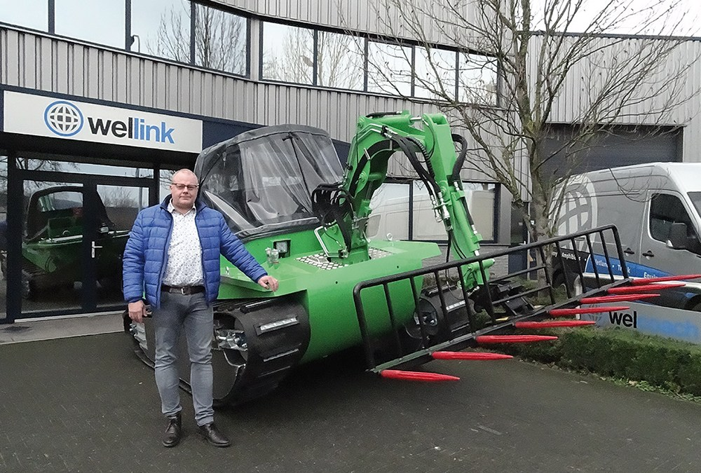 Op de dam bij: Wellink Equipment