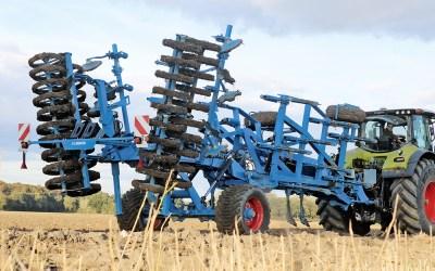 Lemken Karat cultivator – vierbalks zwaargewicht