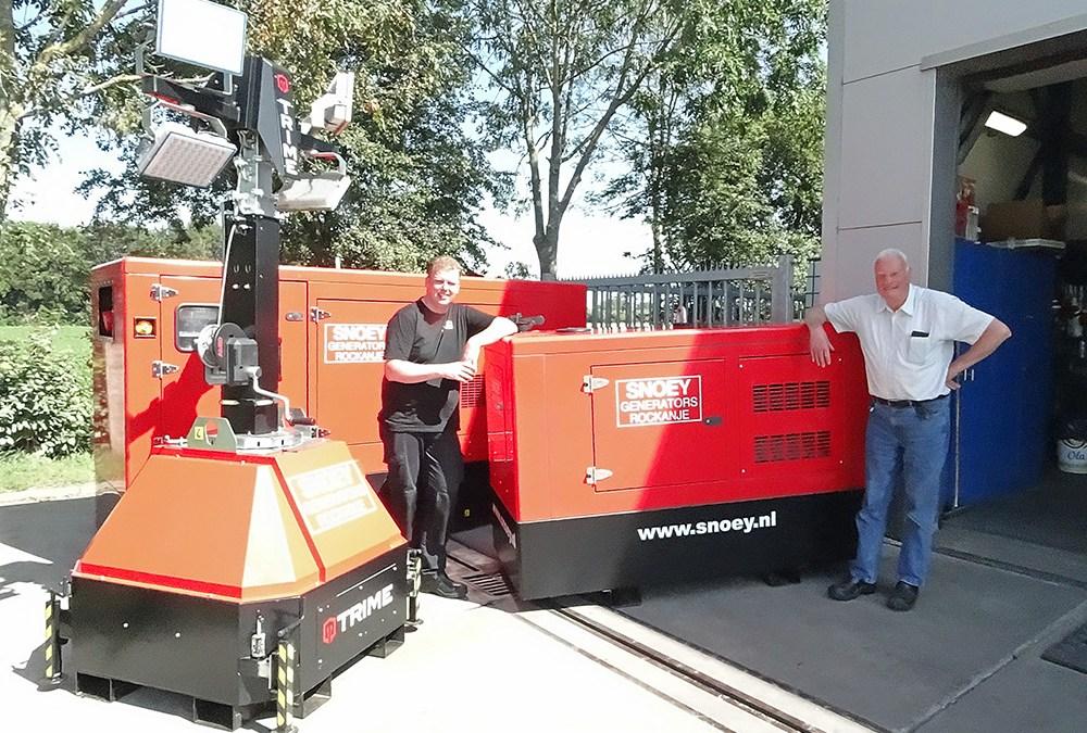 Hier werk ik – Arjan Snoey – Snoey Generators in Rockanje