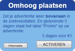 Advertenties omhoog plaatsen – nieuwe optie
