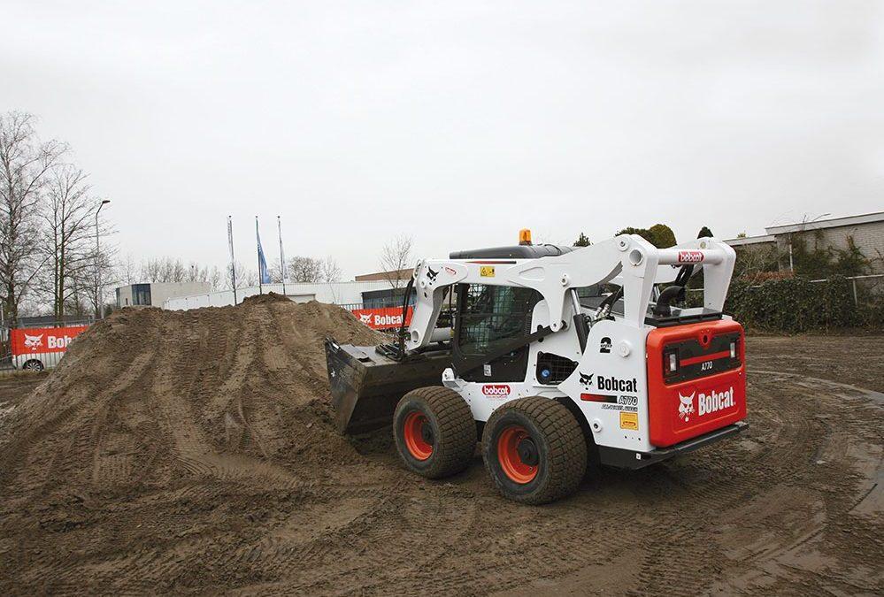 Bobcat A770 schranklader getest #bouwmachines