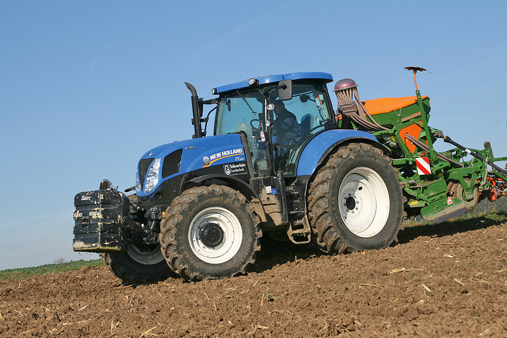 De New Holland T7.210 getest – een traploze blauwe