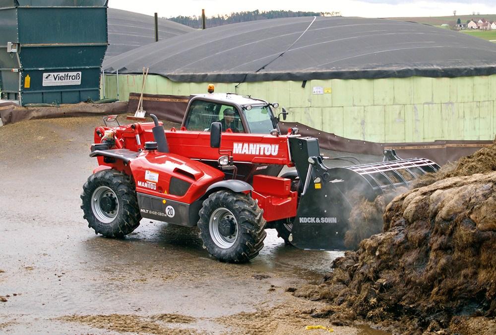 De rode buffel van Manitou | verreiker test