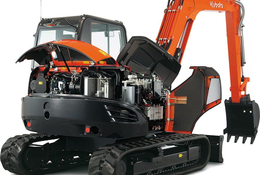 Kubota KX080-4 en KC250HR-4: de kracht van oranje