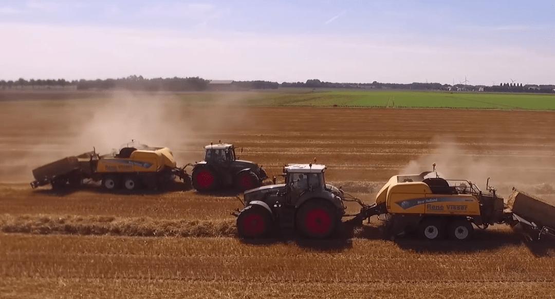 Stro persen en op de kopakker afleggen – AgriTraderTV #53