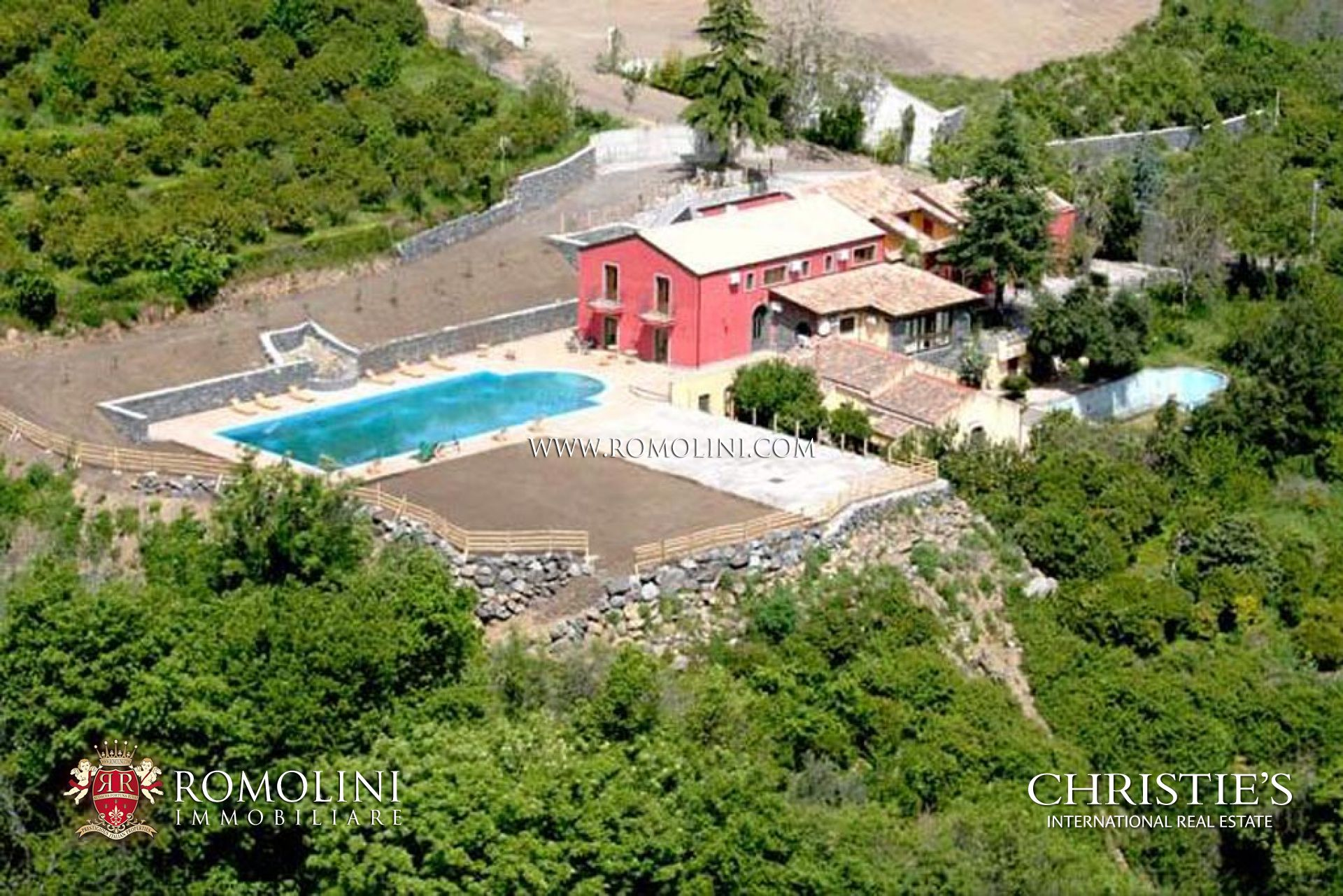 Farm With Agriturismo For Sale In Sicily Mount Etna Regional Park