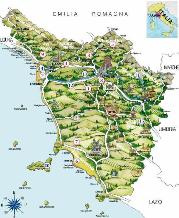 GOLF IN TOSKANA | ToskanAmore Blog vom Agriturismo I Pitti