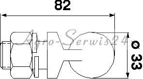 Zestaw naprawczy napędu kosy Claas 522190 610321 610322