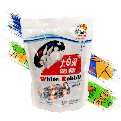 Dulce de Arroz White Rabbit 180g A00214