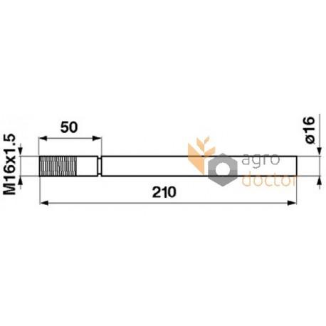 Finger 603759 Claas OEM:603759 for Claas, Buy in eShop