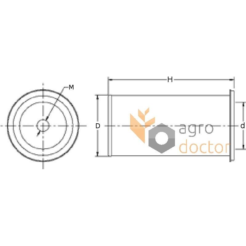 Air filter SA11552 [HIFI] OEM:AZ23642 for FORD, Fiat, Buy