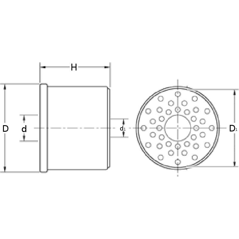 Fuel filter (insert) DF 699 [M-Filter] OEM:602390,0, DF699