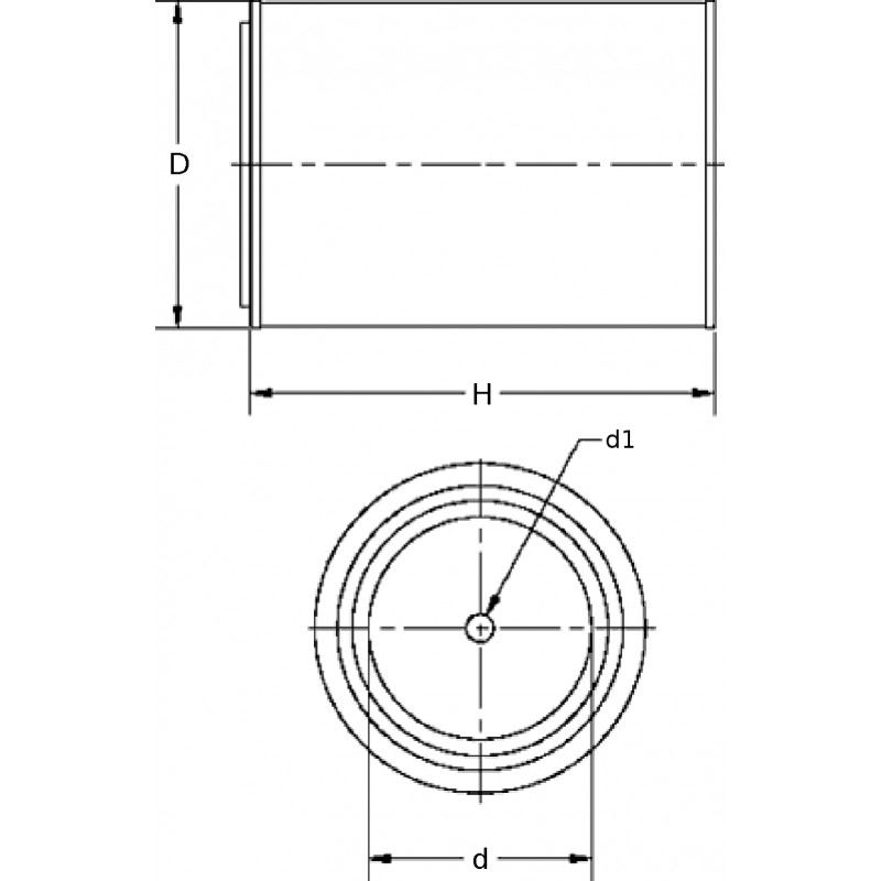 Oil filter (insert) OX 80D [Knecht] OEM:133031 for Case-IH