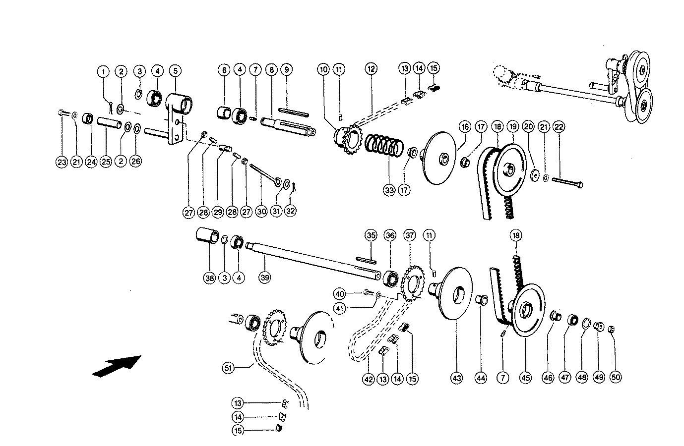 Variator reel header (3.9-9 m) combine CLAAS Lexion