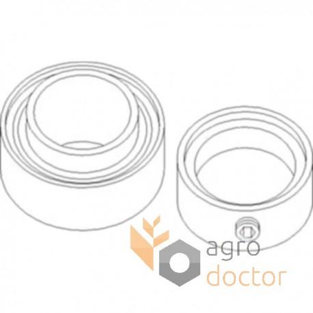 GE 30 KRRB (SNR) Radial insert ball bearing OEM:JD10384
