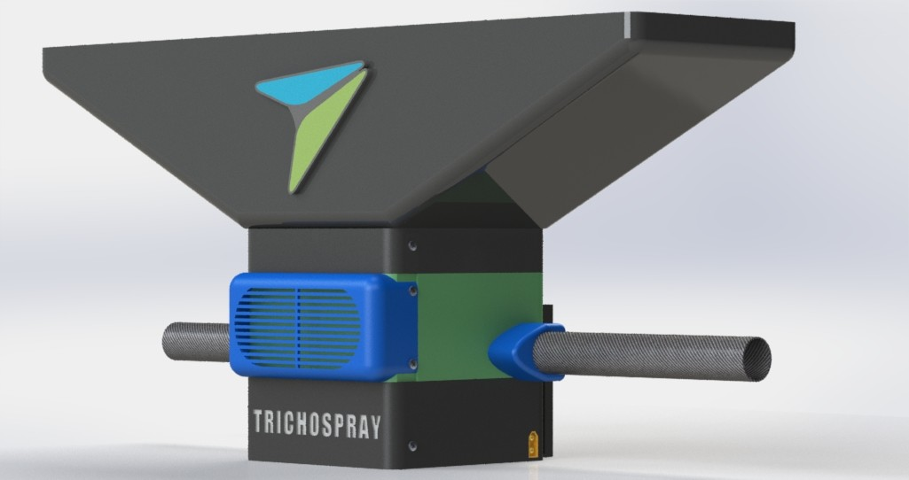 Trichospray pour épandage de trichogramme par drone