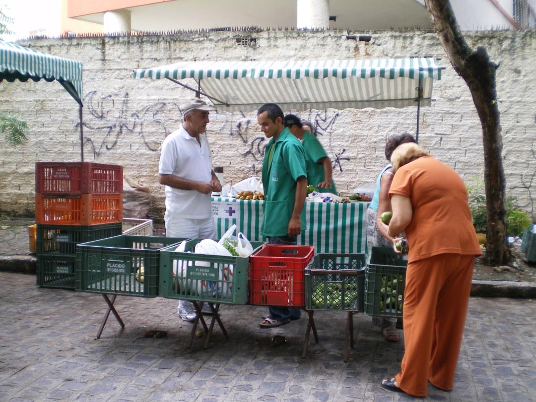 Feira agroecologica de Recife, Foto: Jaime Ferré Martí
