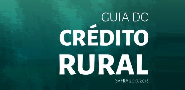 guia de crédito rural