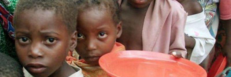 a _ fome crianca